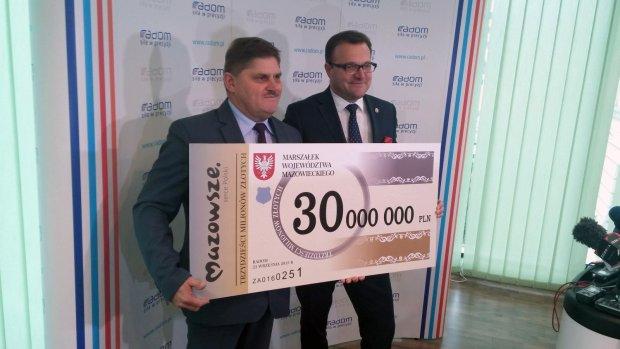 Kolejne 30 mln zł na halę sportową, stadion Radomiaka!