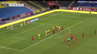 Gol CR7 w meczu ze Szwecją