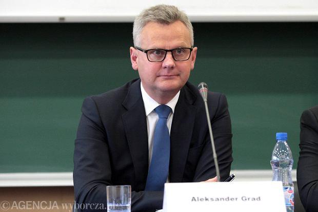 Aleksander Grad przestał kierować elektrowniami PAK kontrolowanymi przez Solorza