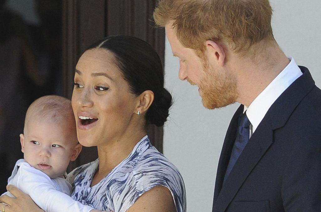 Meghan Markle, Archie, książę Harry