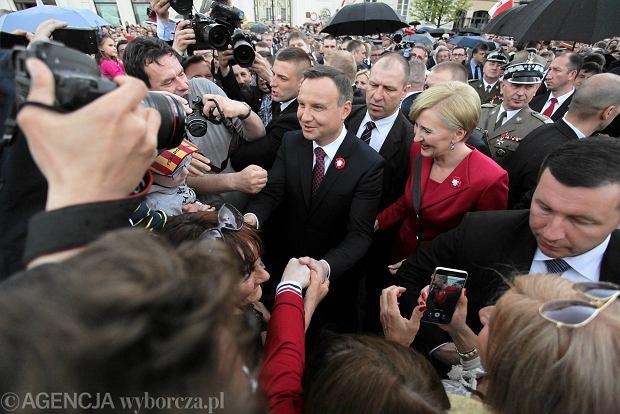 Andrzej Duda na obchodach rocznicy uchwalenia Konstytucji 3 maja