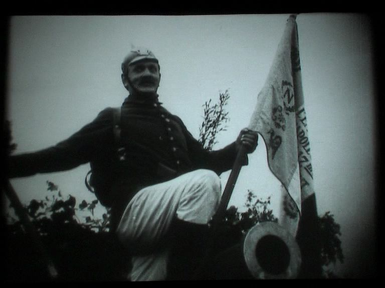 Kadr z blisko stuletniego filmu 'Bartek Zwycięzca'