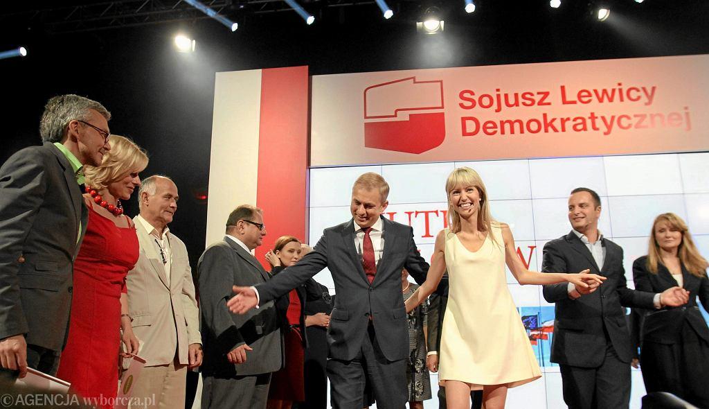 Grzegorz Napieralski i Magdalena Ogórek