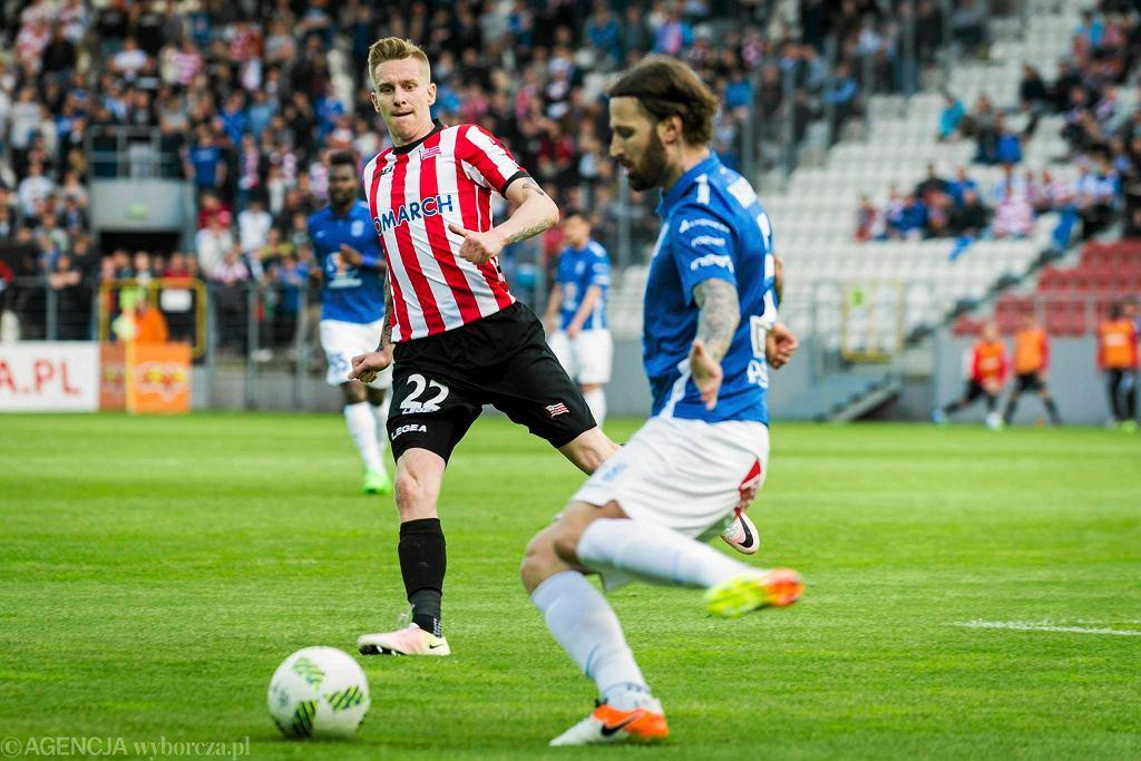 Cracovia - Lech Poznań 2:0. Jakub Wójcicki i Tamas Kadar