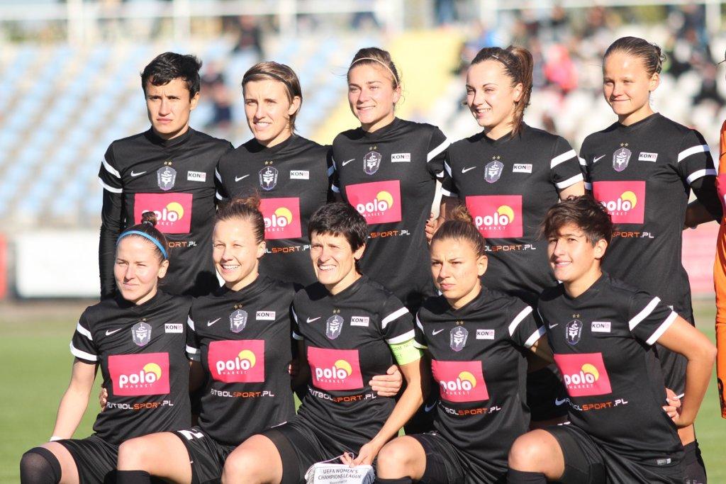 Piłkarki Medyka Konin odpadły z Ligi Mistrzyń po rywalizacji z Olympique Lyon