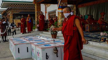 Virus Outbreak Bhutan Vaccination