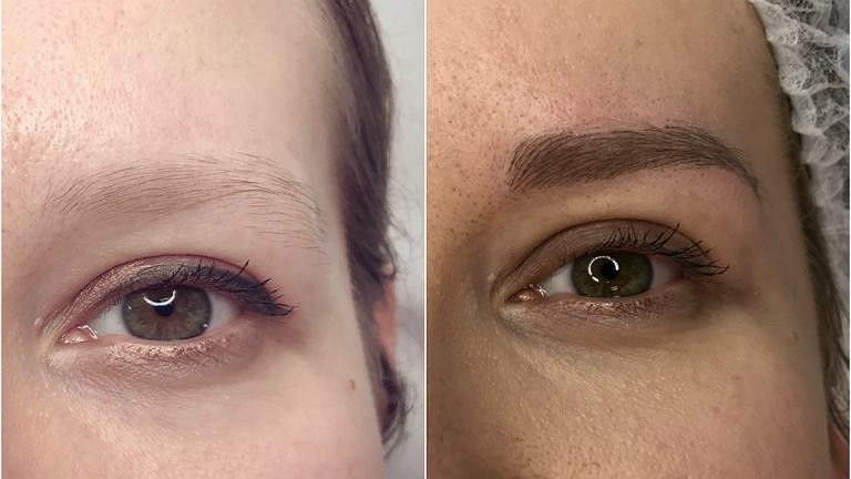 Makijaż permanentny brwi metodą włoskową to najpopularniejsza metoda