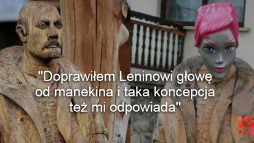 Lenin ze starą i nową głową