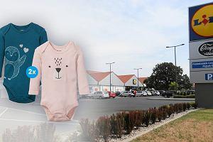 Lidl. Promocja na artykuły i ubrania dla dzieci. Dwupak body za niecałe 10 zł