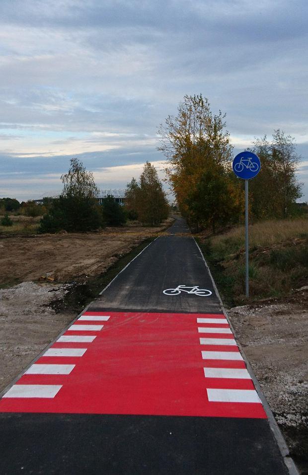 Zdjęcie numer 8 w galerii - Nowa ścieżka dla rowerzystów biegnie przy Motoarenie, bajeczne kolory wokół [ZDJĘCIA]