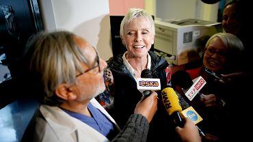 Ewa Błaszczyk w klinice w Olsztynie