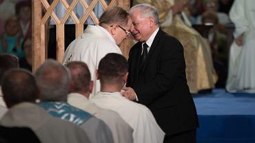 Jarosław Kaczyński na obchodach urodzin Radia Maryja