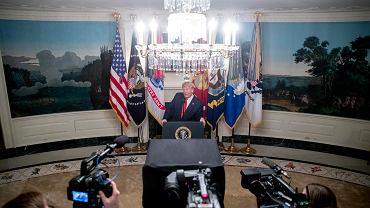 Donad Trump informuje o zabiciu Abu Bakra al-Bagdadiego