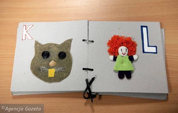 Książki dotykowe dla dzieci niewidomych i słabowidzących