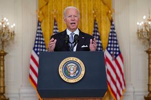 """""""Podtrzymuję swoją decyzję"""" - Biden o wyjściu USA z Afganistanu"""