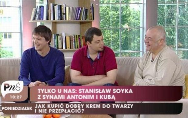 Jakub Soyka, Antoni Soyka, Stanisław Soyka.