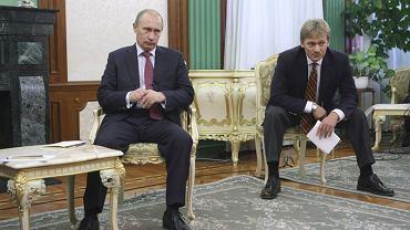 Władimir Putin i Dmitrij Pieskow