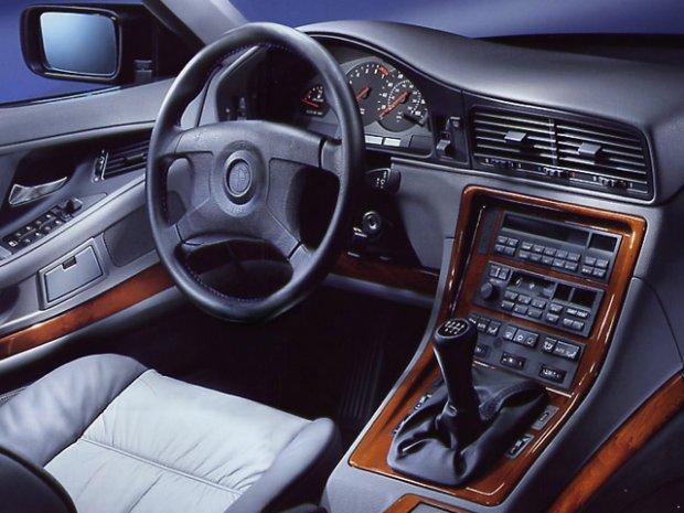 Wnętrze BMW serii 8