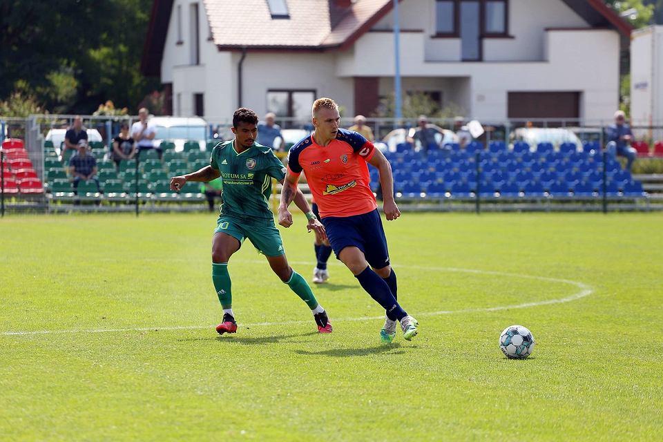 Sobota, 21 sierpnia 2021 r. Trzecia liga piłkarska: Miedź II Legnica - Warta Gorzów 2:0 (1:0)