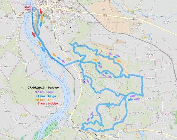Puławy - mapa