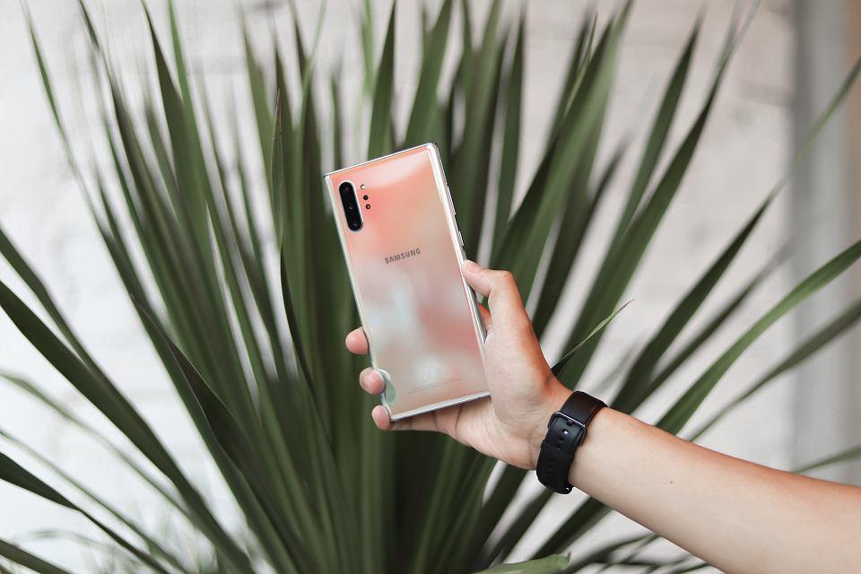Samsung Galaxy Note 10 +: Smartfon z najlepszym aparatem.