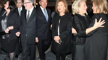 Bronisław Komorowski , Anna Komorowska, Elżbieta Penderecka, Teresa Rosati, Dariusz Rosati