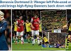 """Liga Mistrzów. Anglicy po meczu Arsenal - Borussia piszą o """"śmiercionośnym"""" Lewandowskim"""