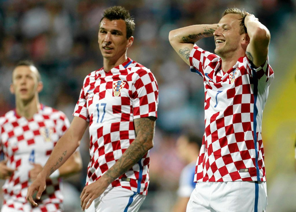 Ivan Rakitić i Mario Mandżukić