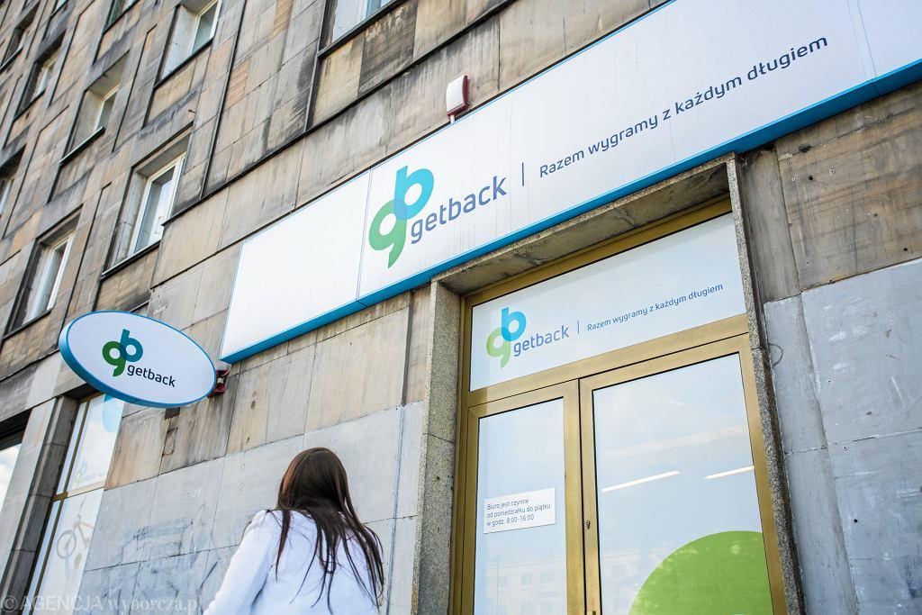 Oddział GetBack w Warszawie.
