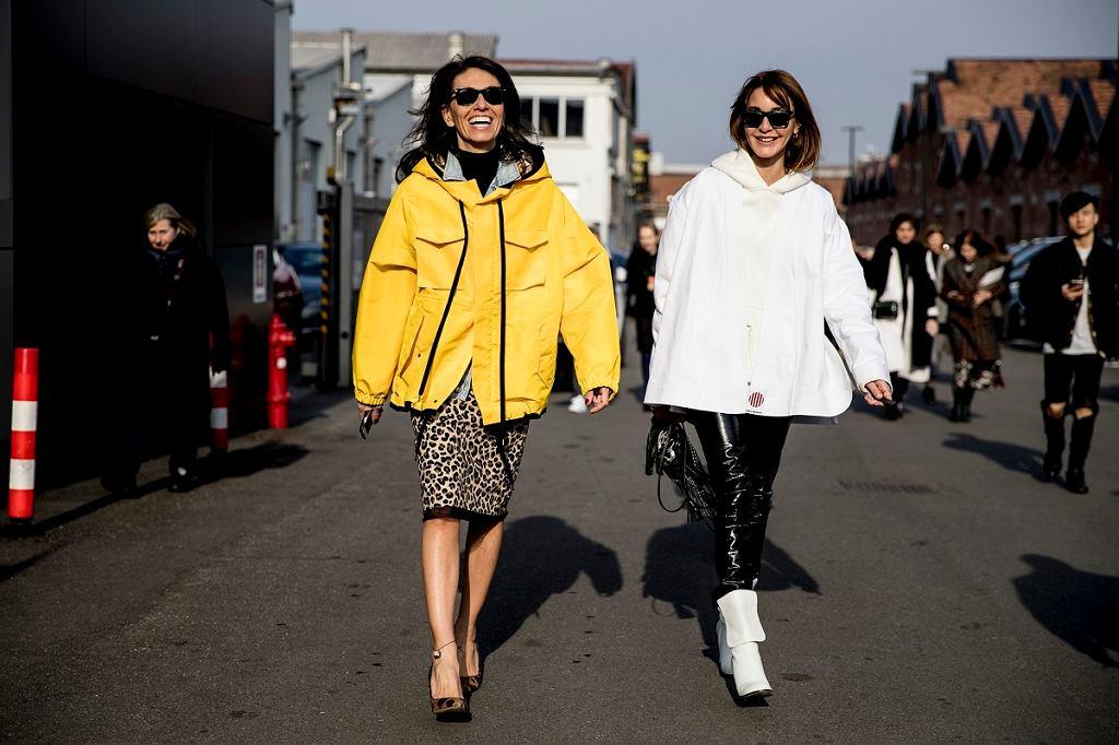 Modne kurtki, fashion week