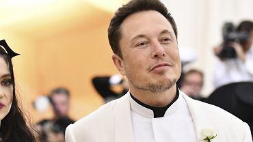 Elon Musk na Met Gala 2018