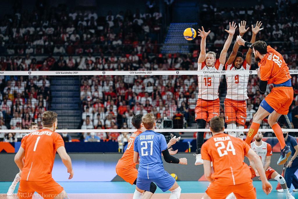 Mistrzostwa Europy w siatkówce. Polacy w ćwierćfinale w pięknym stylu pokonali w Ergo Arenie Rosję