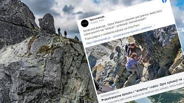 Orla Perć to jeden z najbardziej niebezpiecznych szczytów do zdobycia