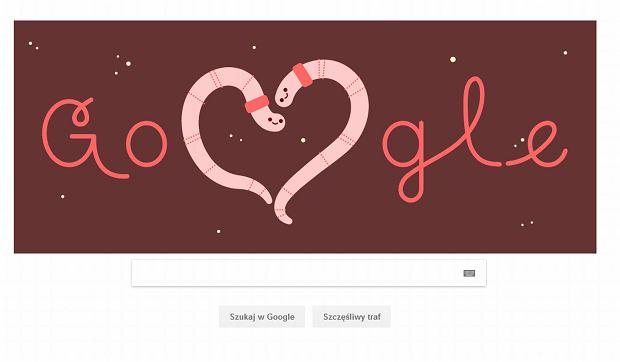 Google Doodle na walentynki 2019