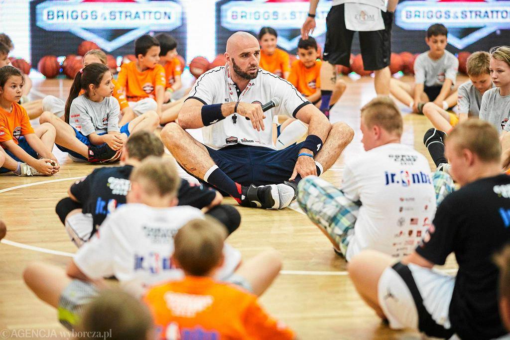 Marcin Gortat Camp. Gwiazdy NBA na treningu w Łodzi