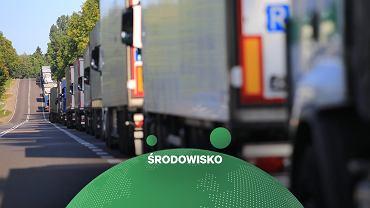 Badanie: ciężarówki na gaz tak samo szkodliwe, jak te z silnikami Diesla (zdjęcie ilustracyjne)