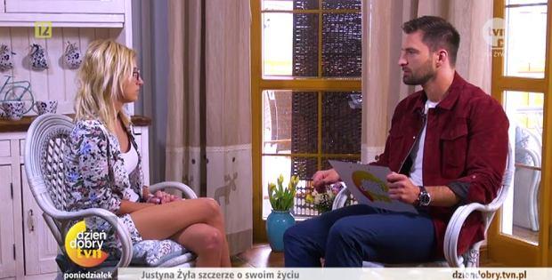 Justyna Żyła i Mateusz Hładki