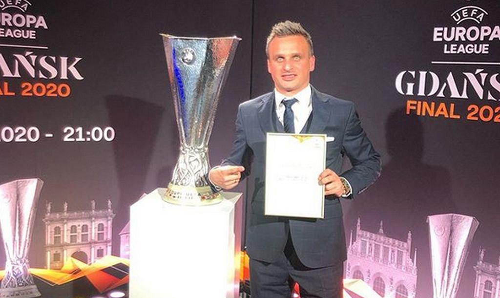 Sławomir Peszko ambasadorem finału Ligi Europy
