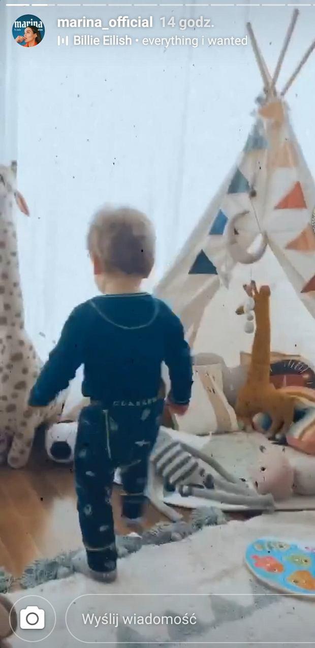 Marina pokazała pokój Liama