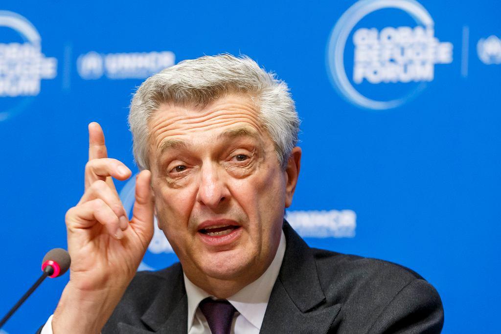 Wysoki komisarz Narodów Zjednoczonych ds. uchodźców Filippo Grandi