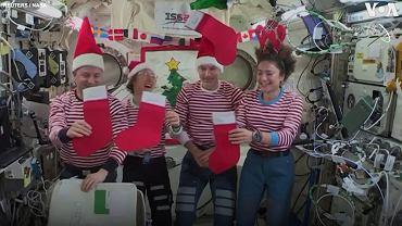 Choinka na pokładzie ISS - 25 grudnia 2015