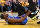 NBA. Warriors lepsi od Thunder, Durant skręcił kostkę