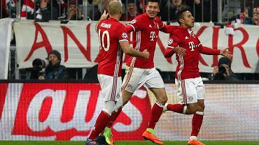 Thiago Alcantara, Robert Lewandowski, Arjen Robben