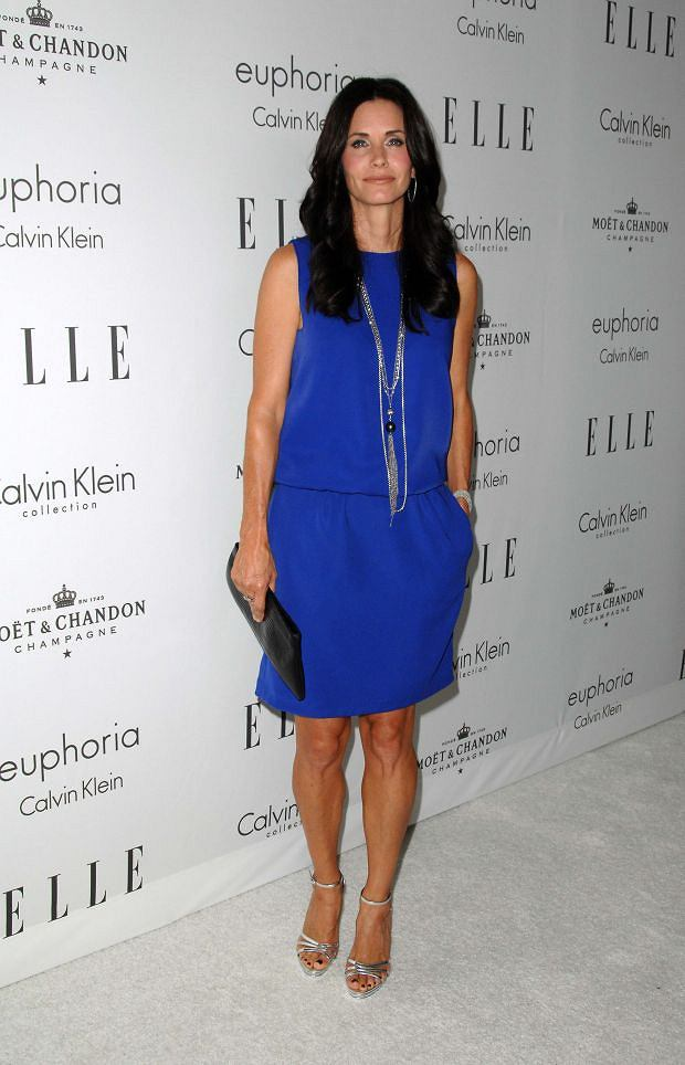 October 6, 2008: Courtney Cox attending the 15th Annual Elle Women in Hollywood Tribute held at the Four Seasons Hotel in Beverly Hills, California. Credit: Scott Kirkland/INFphoto.com Ref.: infusla-60