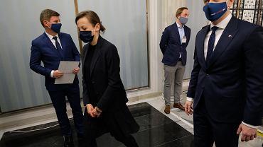 Zuzanna Rudzińska-Bluszcz o Wawrzyku: Jest człowiekiem władzy