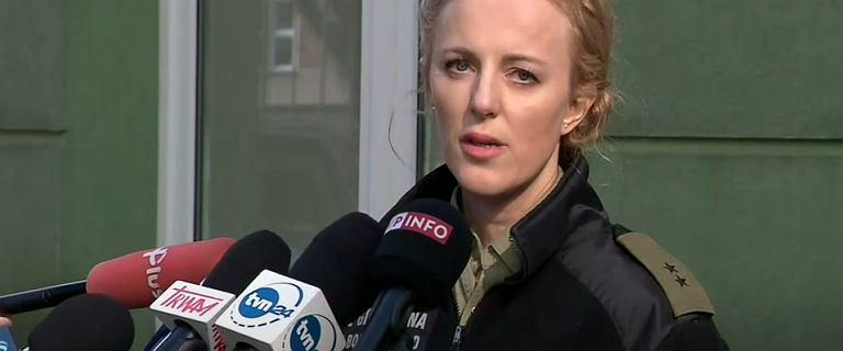 Rzeczniczka SG atakuje media po pytaniu o dzieci z Michałowa