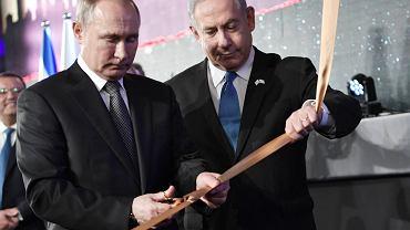 Izreael. Władimir Putin i Benjamin Netanjanu odsłonili pomnik ofiar oblężenia Leningradu