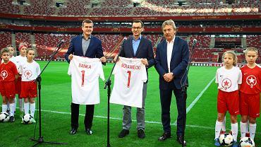 Witold Bańka, Mateusz Morawiecki, Zbigniew Boniek