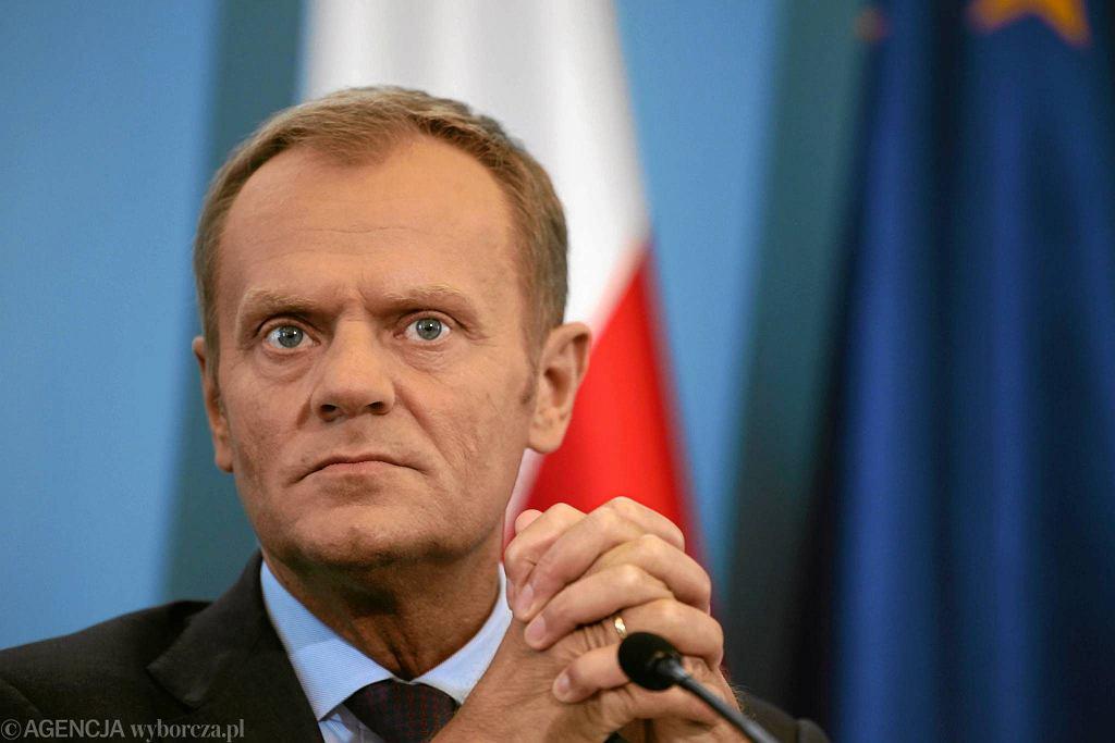 Premier Donald Tusk. Czy PO ma powody do obaw w związku z ostatnimi wynikami sondaży?
