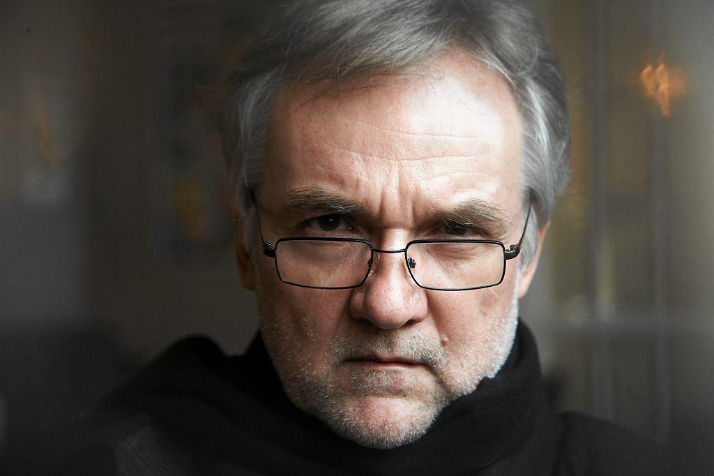 Ostatnia książka pisarza - ''Zuza albo czas oddalenia'' - ukazała się w 2015 r. (fot. Michał Mutor / Agencja Gazeta)